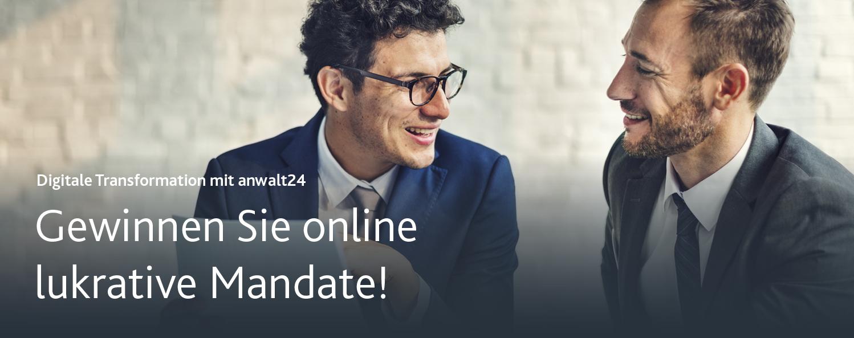 Gewinnen Sie online lukrative Mandate