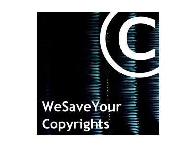 Abmahnung WeSaveYourCopyrights - diverse neue Titel und alte Bekannte