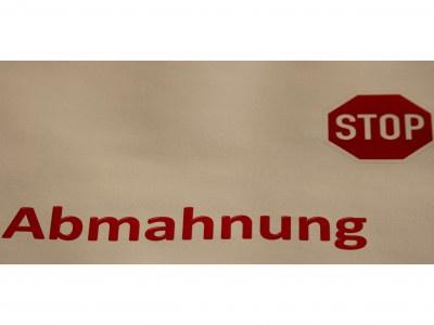 Abmahnung von Wilfried Jaenecke für Eboxu UG und Christoph Dittrich für Werfo Ltd.