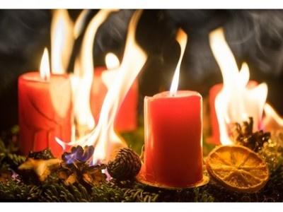 Advent, Advent die Wohnung brennt...