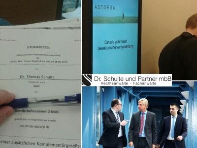 Aktuell nach der Gesellschafterversammlung in Stuttgart - Was hat die Gesellschafterversammlung am 28.02.2015 aus Sicht der Anleger ergeben?
