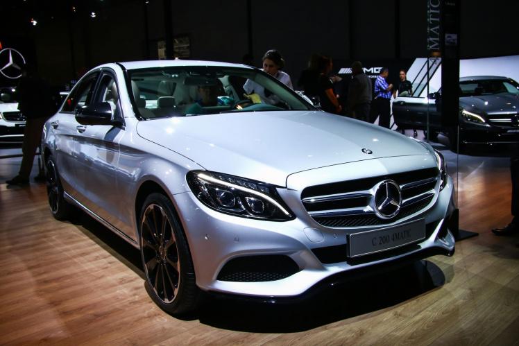 Mercedes C-Klasse im Abgasskandal