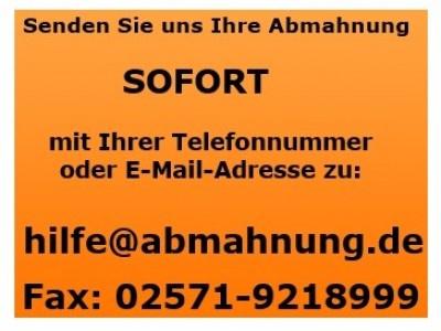 Daniel Sebastian - Abmahnung We Love Fitness 2014 im Auftrag der DigiRights Administration GmbH