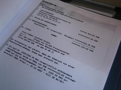 S.W. Immo-Fonds 2051, in der Urlaubszeit den Mahnbescheid zugestellt?