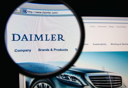Verdacht des Abgasbetrugs: Durchsuchungen in Daimler-Werken