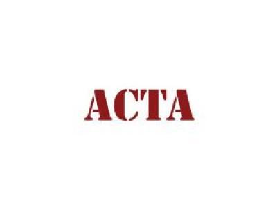 Justizministerin legt Acta ad acta