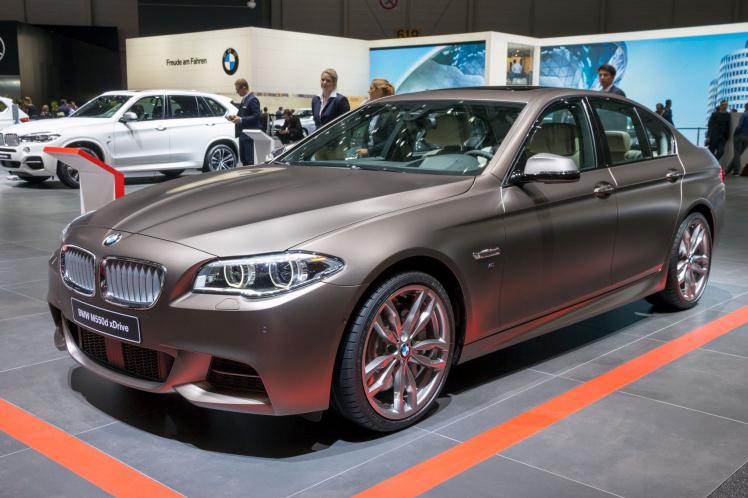 BMW 550d im Abgasskandal
