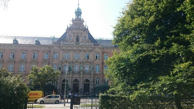 Landgericht Hamburg Außenansicht