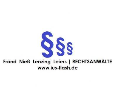 Mahnbescheid der Rechtsanwälte Waldorf Frommer für die Constantin Film Verleih GmbH