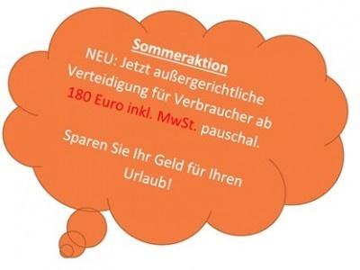 Notruf Abmahnung: Verteidigung wegen Schadenersatz gegen Waldorf Frommer ab Euro 180 pauschal