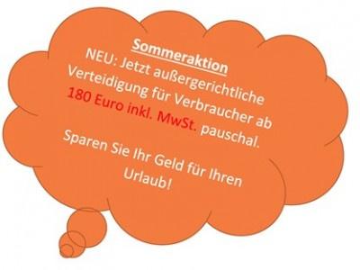 Notruf Abmahnung: Verteidigung gegen Waldorf Frommer ab Euro 180 pauschal. Aktuell zu § 97a Absatz 3 UrhG