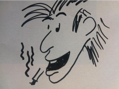 """Rauchen kostet den Versicherungsschutz, wenn man einfach  """"zu cool"""" ist. (VVG §61)"""