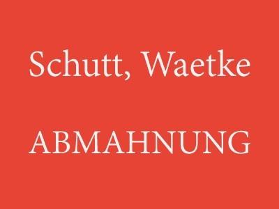 Schutt, Waetke – Abmahnung Southpaw - TOBIS Film GmbH & Co. KG wegen Filesharing