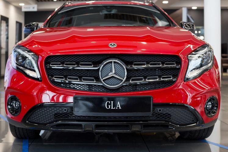 Mercedes GLA im Abgasskandal