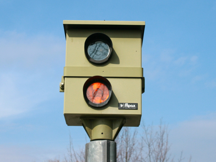 Rotlichtblitzer in Deutschland