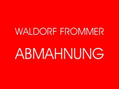 Waldorf Frommer – Abmahnung Blindspot - Eight Slim Grins - Warner Bros. Entertainment GmbH wegen Filesharing