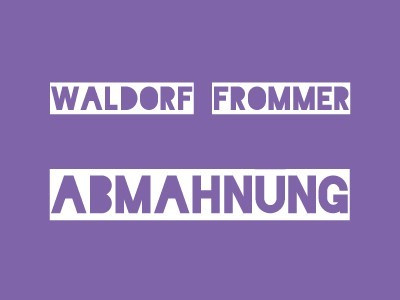 Waldorf Frommer – Abmahnung Blindspot - Bone May Rot - Warner Bros. Entertainment GmbH wegen Filesharing