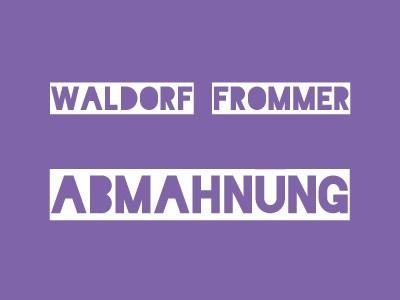 Waldorf Frommer – Abmahnung Inherent Vice - Natürliche Mängel - Warner Bros. Entertainment GmbH wegen Filesharing