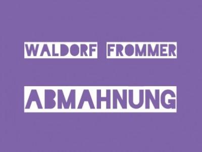 Waldorf Frommer – Abmahnung Sicario - Studiocanal GmbH wegen Filesharing