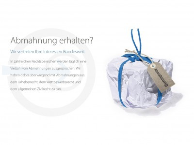 Waldorf Frommer, Fareds, Daniel Sebastian - Filesharing Abmahnung