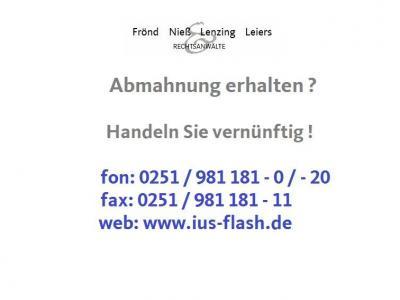 wettbewerbsrechtliche Abmahnung der Frau Ayse Baykan, Jahnstraße 18, 73779 Deizisau, - www.turkish-musik.com - durch Herrn RA Gereon Sandhage, Berlin