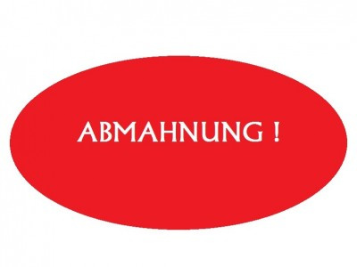 Wettbewerbsrechtliche Abmahnung des Arte Fiori e.K. / Inhaber Behzad Azimian, 87700 Memmingen