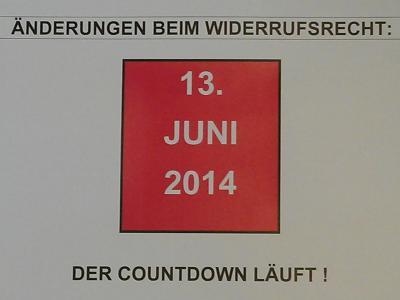 Widerrufsrecht: Änderungen kommen zum 13.06.2014