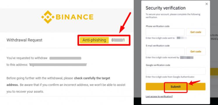 Wie Banken Online Banking Sicherer machen können - Beispiel Binance und ING DiBa - Anti Phishing - Rechtsanwalt Kaufmann