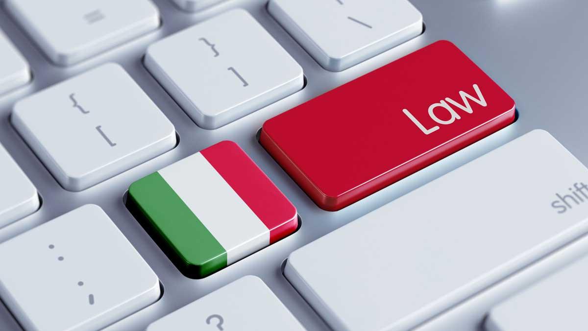 Italienisches Recht