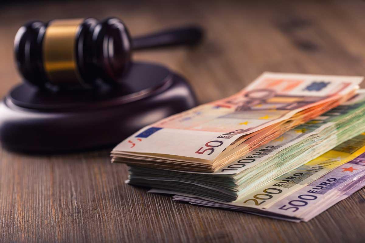 Prozesskosten Gerichtskosten