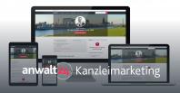 Mandantengewinnung mit anwalt24. Responsives Design für alle Endgeräte. | Premium-Profil anwalt24