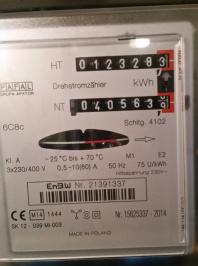 Strompreiserhöhung durch Energieversorger - Stromzähler