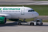Germania Flieger bleiben am Boden