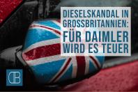 Dieselskandal Daimler in Großbritannien: Jetzt wird es teuer