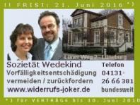 ZDF: Letzte Chance zum Hauskredit-Widerruf. Achtung: Frist 20./21. Juni 2016. Textbaustein / Musterbrief für Widerrufsjoker