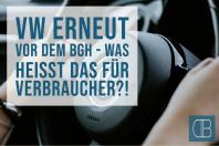 Abgasskandal – VW erneut vor BGH