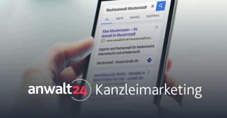Mandanten-Akquise mit Google AdWords! AdWords-Anzeigen auf 1. SERP | anwalt24