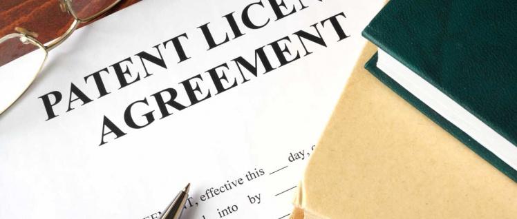 Lizenzrecht Patent