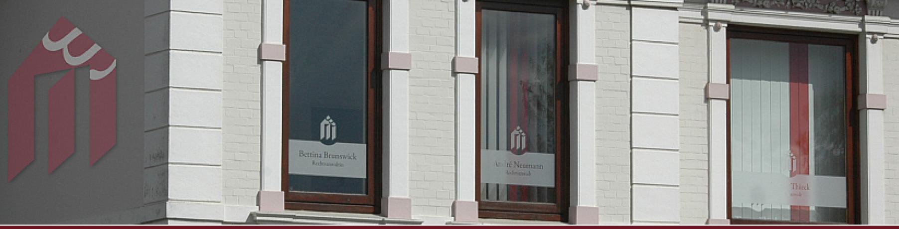 Rechtsanwältin Brunswick im Anwaltshaus in Wedel