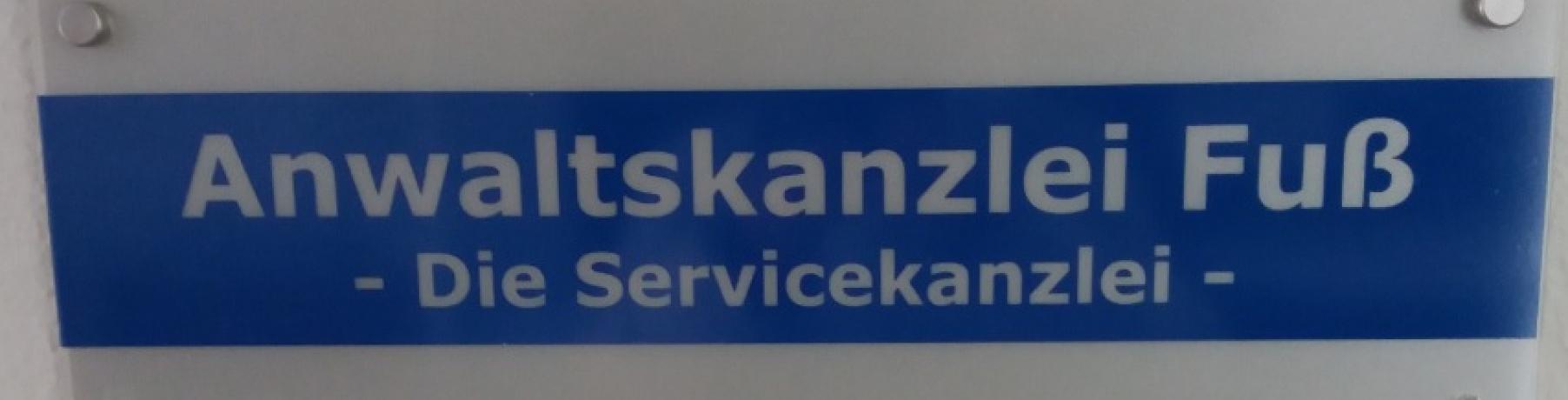Anwaltskanzlei Fuß - Die Servicekanzlei - Kanzlei für Arbeitsrecht und Vertragsrecht in Stuttgart