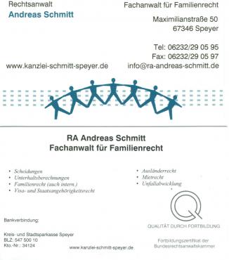 Andreas Schmitt Rechtsanwalt