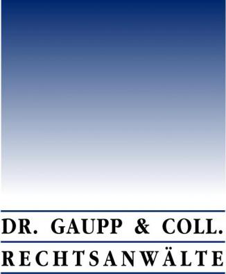 Dr. Gaupp & Coll. Arbeitsrecht  Erbrecht Handelsvertreterrecht
