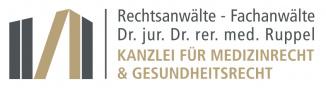 Rechtsanwälte Dr. jur. Dr. rer. med. Ruppel - Kanzlei für Medizinrecht und Gesundheitsrecht