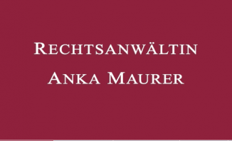 Rechtsanwältin Anka Maurer