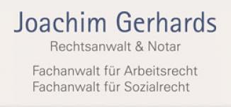 Rechtsanwalt Joachim Gerhards