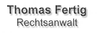 Rechtsanwalt Thomas Fertig