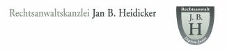 Rechtsanwaltskanzlei Jan B. Heidicker